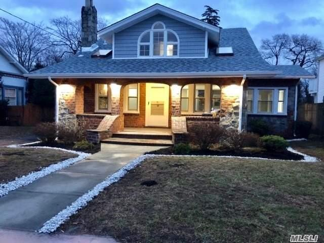 Live In Style W/The Quality Craftsmanship Presented In This Home! Desirable Location-O'side Schools. You Will Be Awed By The Oak Floating Staircase W/Ss Railings To The Lrg Stone Frplc Enjoy The Comforts Of This Renovated Home That Offers New: Eik W/Lrg Island, Quartz Ctrtps, Ss Appl, Fly-In/Fly-Out Microwave, 3 Fbths W/Upgraded Toilets & Tubs, Fin Bsmt, Hvac Gas Heat/Cac, New Roof-Siding-Plumbing-Skylights-Doors. Updated Elec., Cable Pre-Wired, Usb Outlets, Refin Oak Flrs, Lrg Deck&Backyard!