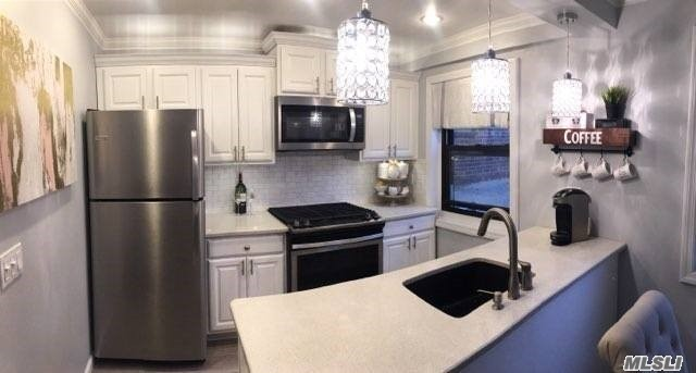 Rare For Sale True Three Bedroom Lower Clearview Coop(Size 5.5) Totally Renovated Spectacular Design, First Class Workmanship & Materials Which Is Located In The Most Sought After Desirable & Convienent To Everything Section Of Clearview.Open Layout, Eat In Chef Style Kitchen, Stainless Steel Appliance.Diningroom, Wideplank Wood Floors Throughout, Five Closets, Washer& Dryer In The Unit, Walk To Bayside Dist 26 School Ps209, Nyc Local &Express Bus.Beach Rights, Walk To Shopping, Diining, Parking Available