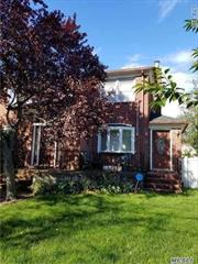 Valley Stream Brick Colonial, 10 Rooms, 5 Bedrooms 3 Full Baths, Large Rooms, Large Property, Park Like Property, 2 Car Brick Garage, Close To Lirr, Schools, Parks And Shopping,