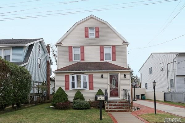 This Homes Welcomes You At The Front Door With A Large Living Room Leading To A Bright And Spacious Formal Dining Room. This 3 Bedroom 2 Bath House Has Tons Of Storage And Gleaming Hardwood Floors Throughout. A Large Deck Surrounds The Back Of The House Which Is Complimented By A Spacious Backyard. New Heating System, Gas Heat. This Is A Lynbrook Gem.