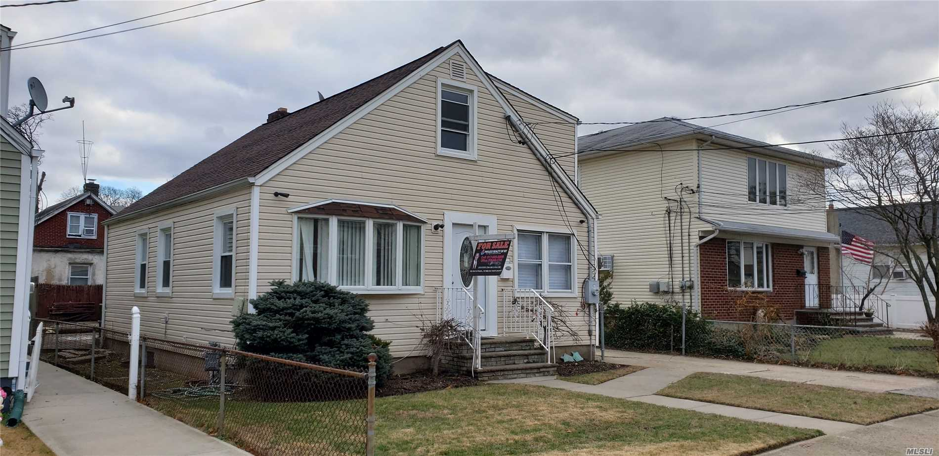 Fully Renovated 1 Family, New Kitchen With Granite Counter Top, Stainless Steel Appliances, Hardwood Floor Through Out, New Plumbing, New Electrical, New Windows, New Bathroom, New Roof. Property Detached With Private Driveway 1.5 Garage 40X100 Lot.