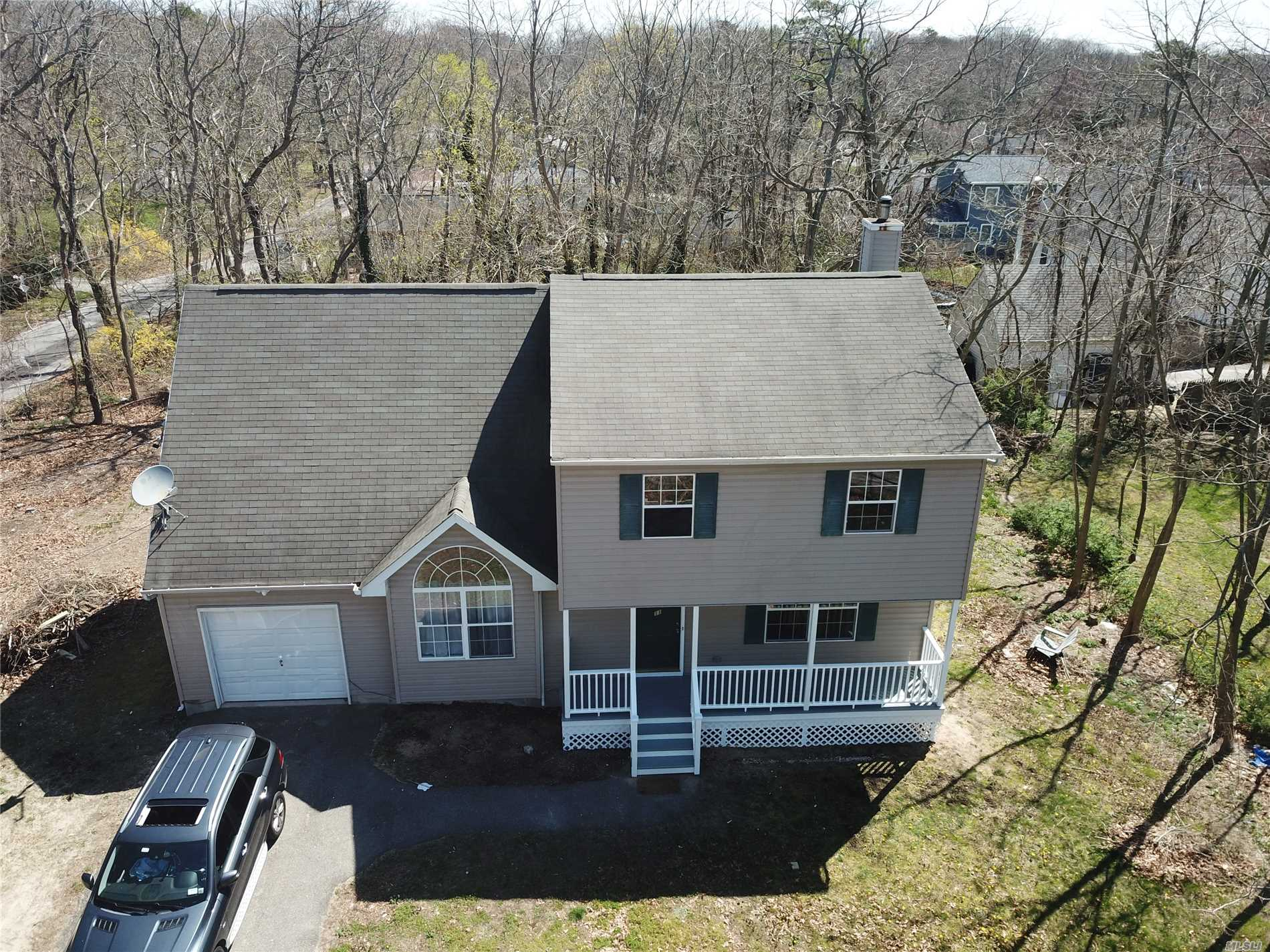 Renovated, Big Colonial, Huge Master, New Appliances, New Interiors, New Floors, New Sheetrock, New Electric 150 Amps, 1 Car Garage, Huge Family Den W/ Vaulted Ceilings, New Bathrooms, Large Lush Corner Property.