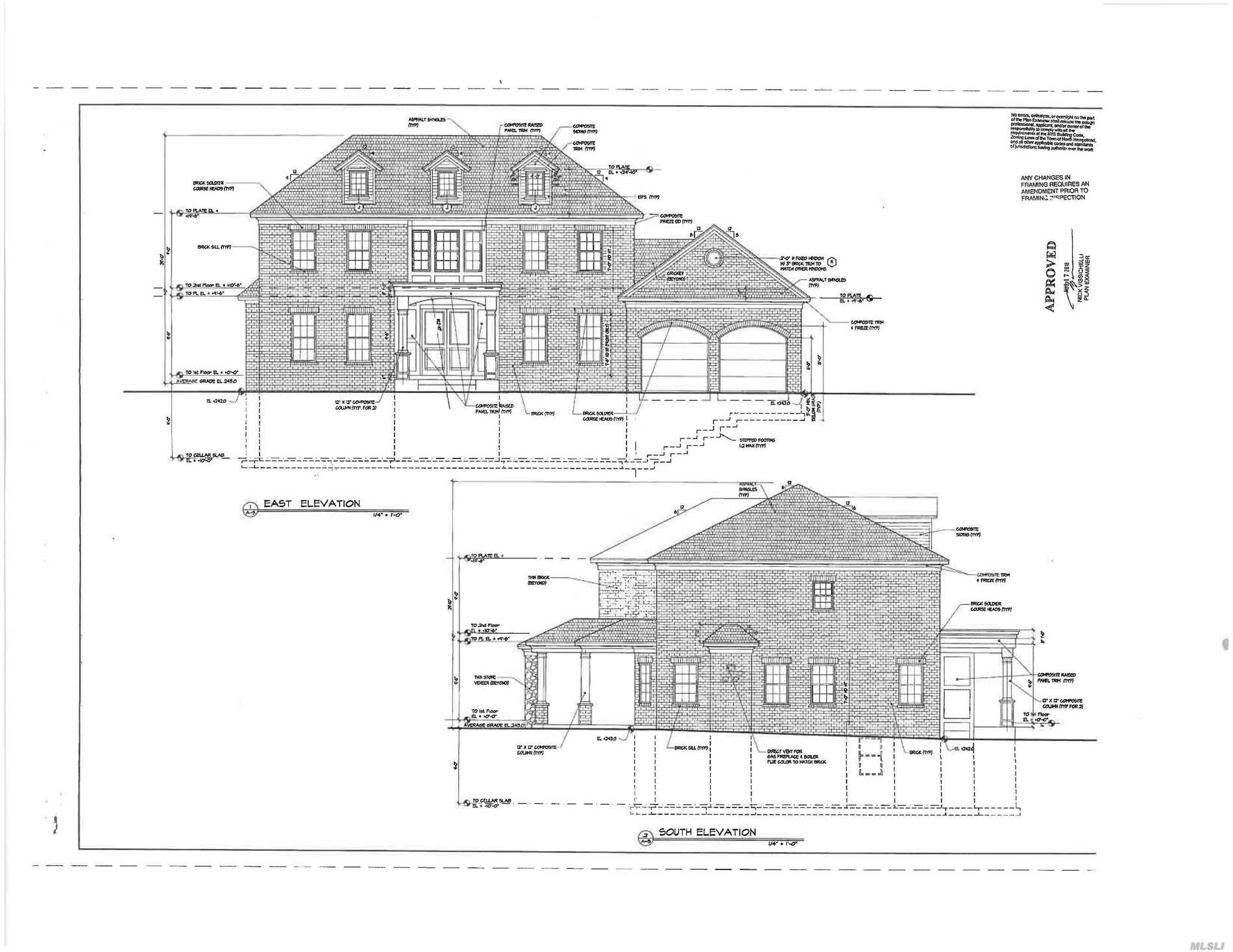 Rare Opportunity To Work With The Builder On Selecting Interior Finishes On Stately Brick Center Hall Colonial With Spacious Entertaining Rooms, Stunning Covered Patio W Gorgeous Outdoor Fireplace. Master Suite With Walk In Spacious Walk In Closet And Soon To Be Spa Like Master Bath. This Is An Opportunity Not To Be Missed In Creating Your Dream Home. Completion In Late Spring 2019 . 4000 Sq Ft Plus Finished Lower + Generator, Second Laundry Room, Radiant Heat, Pre Wired Audio/Surround & More.