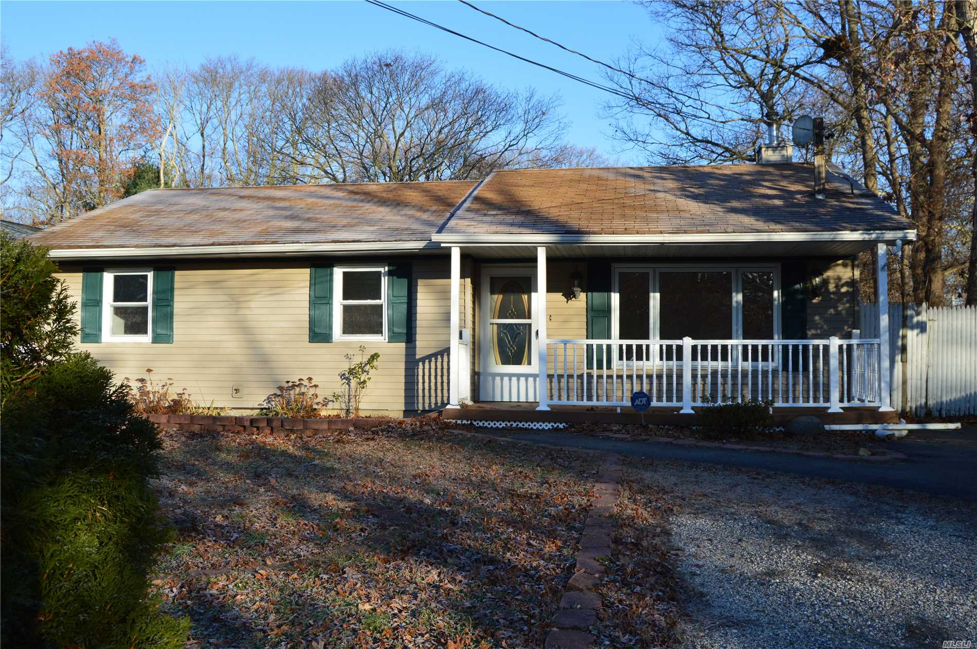 Newly Renovated Ranch In Mastic With Central Air And Brand New Carpeting! Updated Bathroom, Led High-Hats Throughout. Great First Time Home Buyer Opportunity!