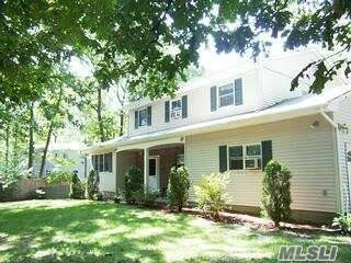Amazing 4 Bedroom, 2 1/2 Bathroom Custom Colonial With Open Floor Plan, Hardwood Floors, New Windows, New White Kitchen, New Roof And Vinyl Sidings. Too Much To List