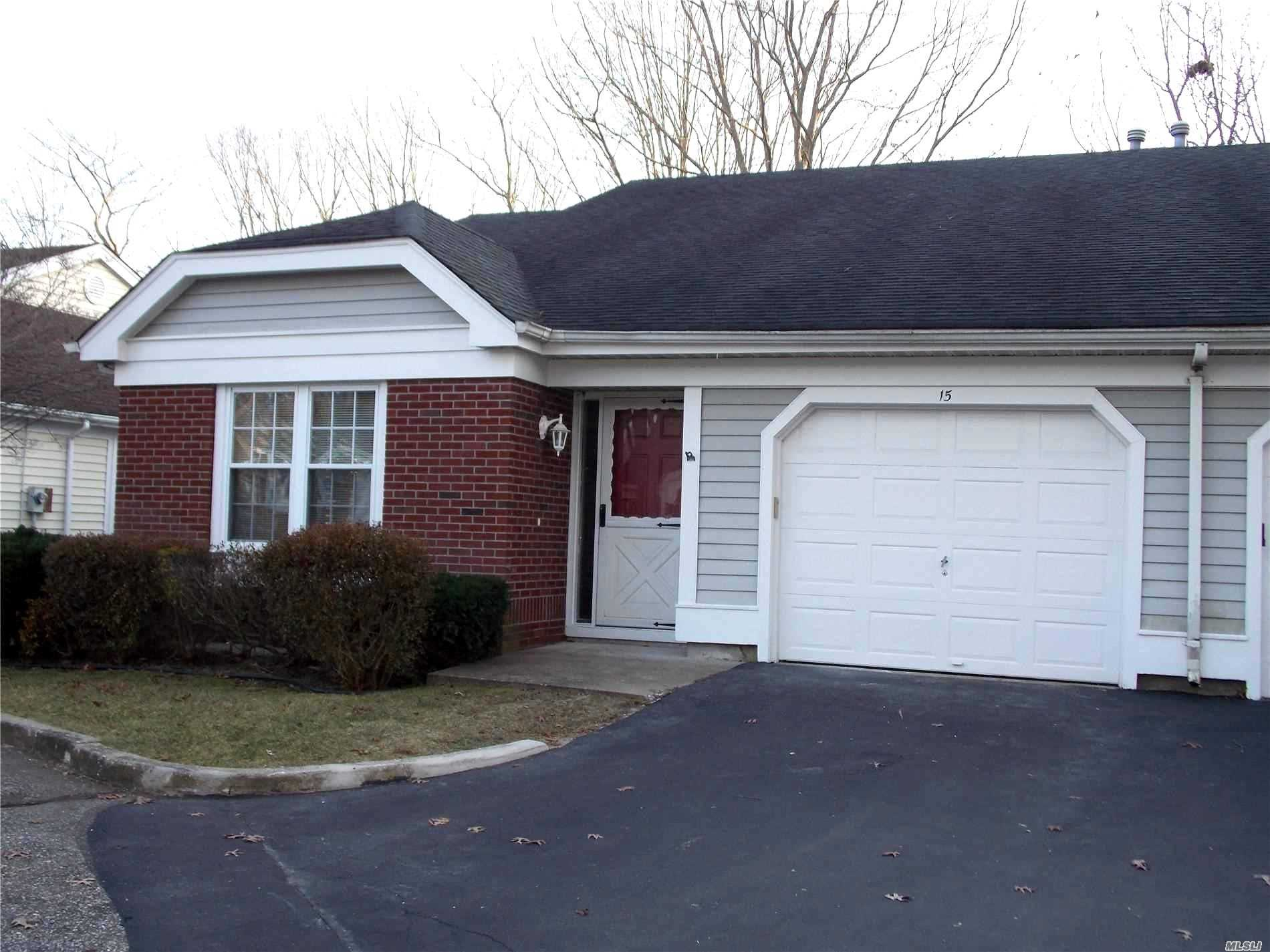 Updated Warwick Model In A 55 Plus Gated Community. Sunny & Bright With A Cul-De-Sac Location. Volume Ceilings, Updated Windows, New Bathrooms, Remote Lighted Ceiling Fans Carpeting , Kitchen Flooring & Counter Tops. Large Kitchen With Lots Of Cabinetry, Spacious Master Suite With Walk-In Closet And Additional Double Door Closet. Concrete Patio Off Kitchen & Private Yard. Well Maintained Active Community With Lots Of Activities. Community Location Is Convenient To Major Roadways, Shopping Etc