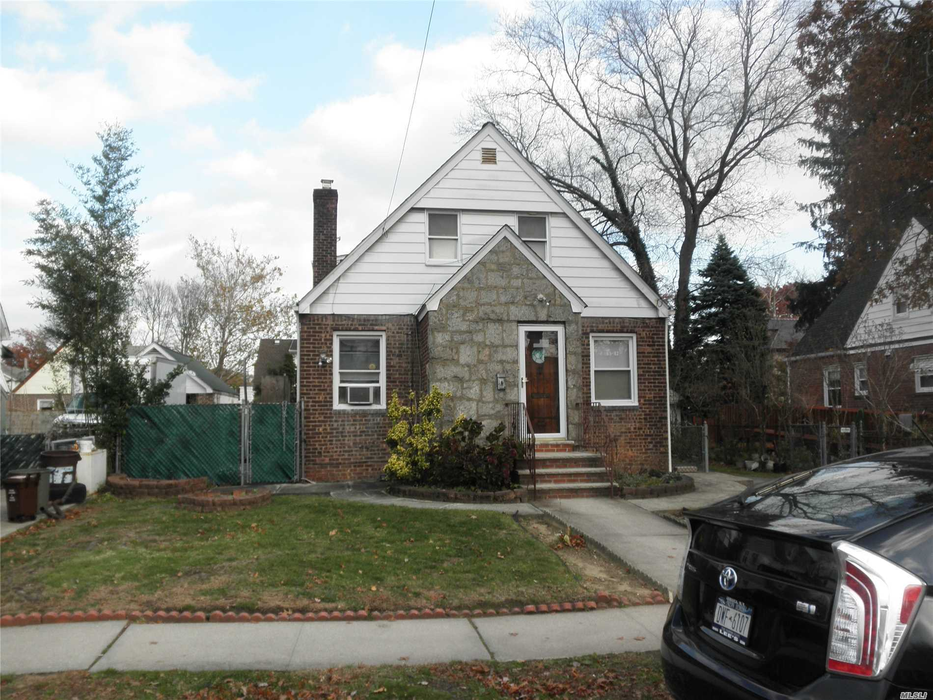 Detached Brick House With 50X100 Property ! Handyman Special House Sold As Is Condition. Great Opportunity For Build Your Dream Mansion With 5000 Sqft Lot. School District #26: P.S.173, Jhs216 And Francis Lewis High School. Close To Bus Stops, Shops And Park. Very Good Location In Heart Of Fresh Meadows,