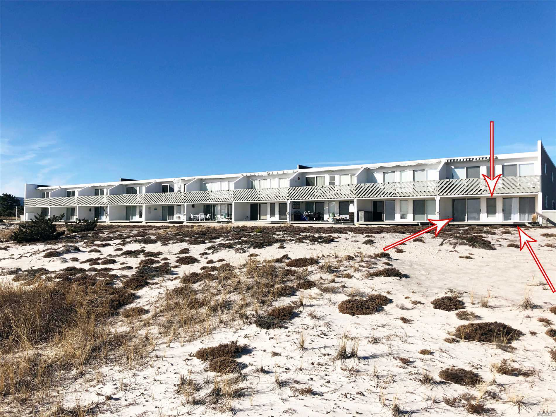 Come Enjoy Amazing Ocean Views And Sunsets This Summer. This Renovated Unit With Open Floor Plans Offers Two Bedrooms Two Full Baths, Living Room, Eat-In-Kitchen And Private Deck Just Steps Away From The Ocean. Minutes To Westhampton Beach Village!