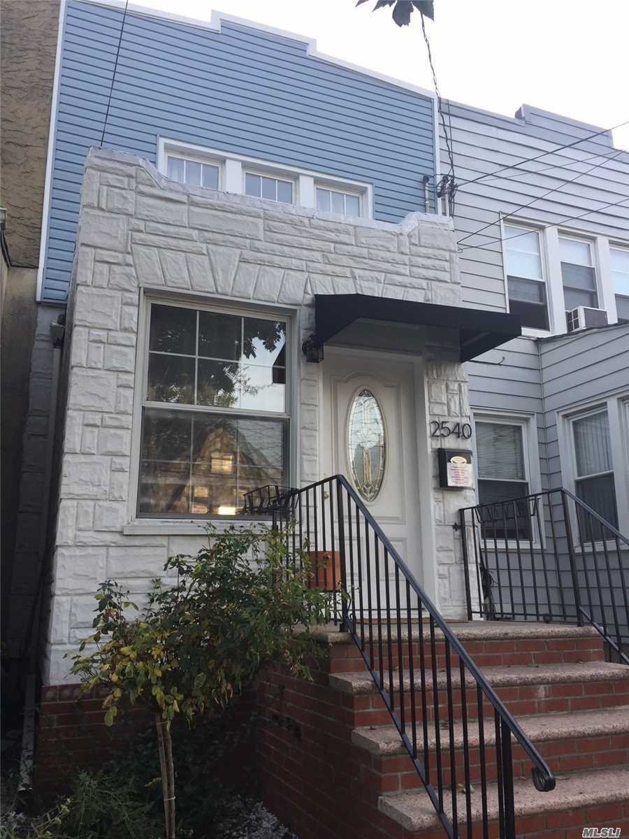 Totally Renovated 1 Family, 4 Bedrooms, 3 Full Bathrooms, Formal Living Room/ Dining Room, Custom Made Kitchen With Granite Counter Top And Stainless Steel Appliances, Garage, Full Finished Basement With Separate Entrance& Laundry Room. Hardwood Floors. Great Location. Close To Shops, Schools And Transportation. Call Today . Must See.