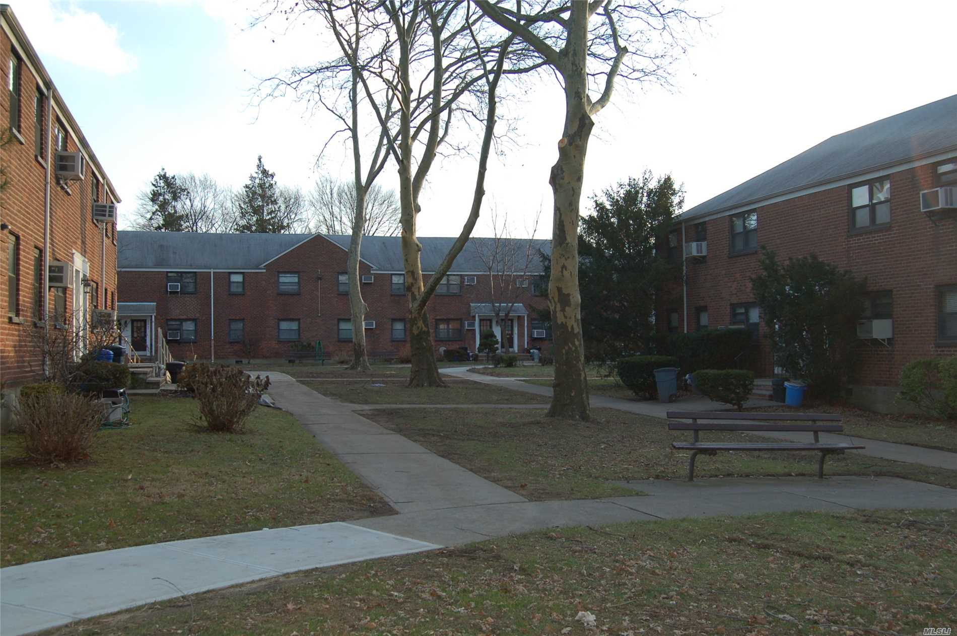 2 Br Lower Level Coop Located In Court Yard.