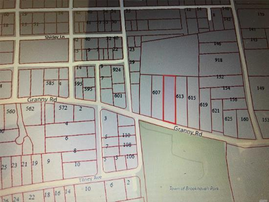 Vacant Land Waiting For You To Build A Dream Home. Directly Across From Granny Rd. Park. Close To All!!!
