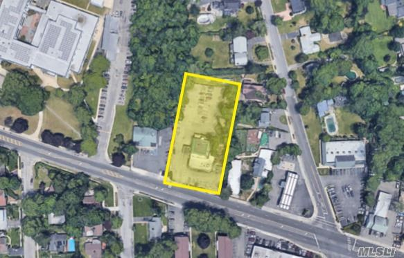 150 Ft Of Frontage On Busy Merrick Road, 292 Merrick Road Amityville Is Zoned Business 2 And An Ideal Use For A Restaurant Space And Is Either For Sale Or Nnn Ground Lease.