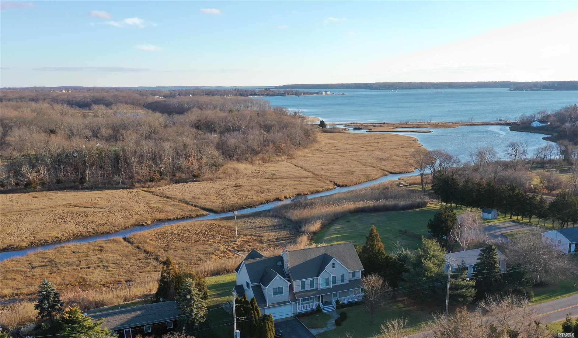 Rare Opportunity In Peconic Bay Estates! Waterfront 5 Br 3.5 Bath Single Family Home With An Accessory Apartment For Under A Million. Fully Renovated In 2005. 2nd Floor Includes 3 Br, 2 Bath And 1st Floor Is 1-2 Br, 1.5 Bath, Office.