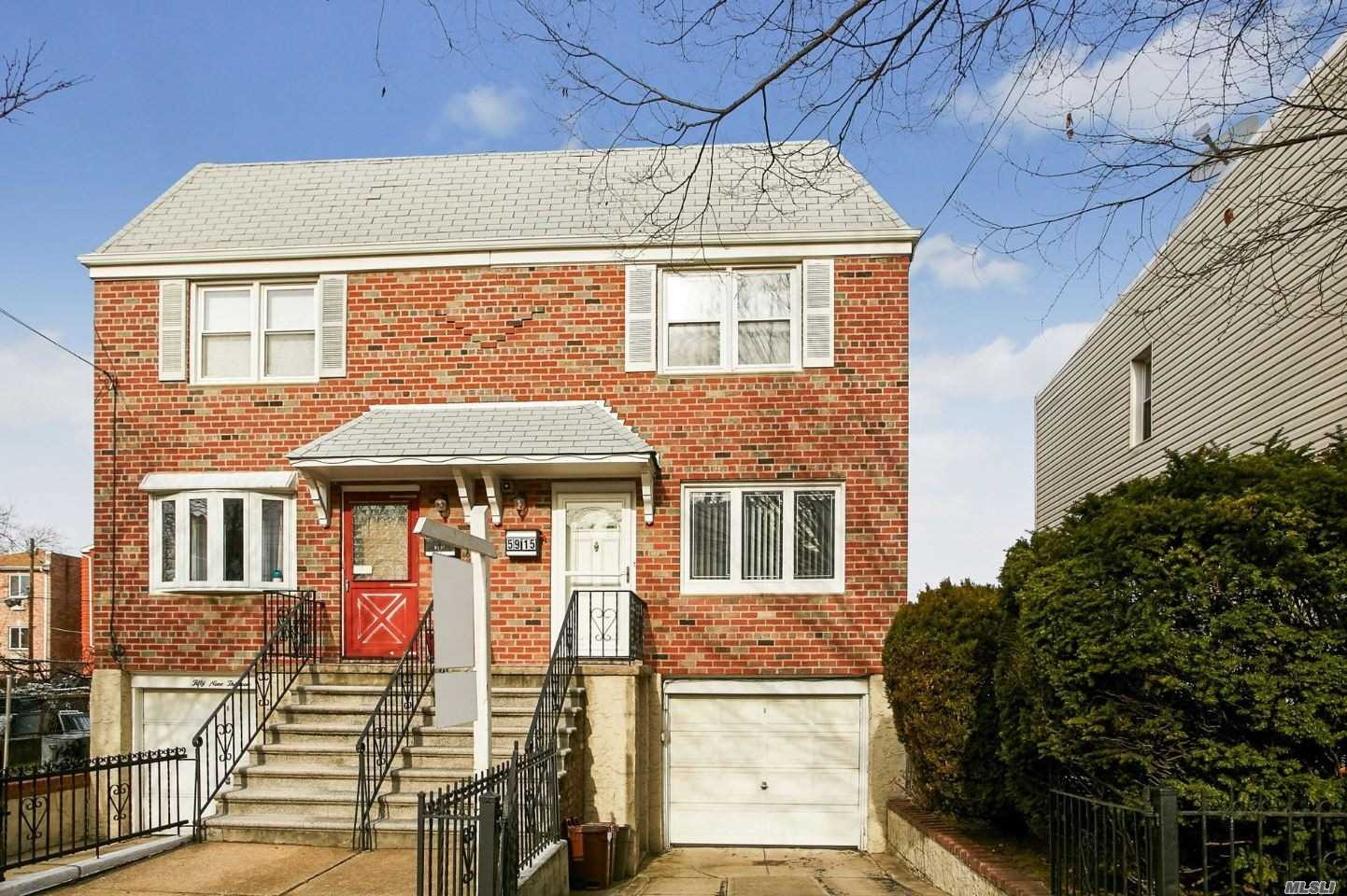 Its A Beautiful Semi Detatched Brick Side Hall With Side Yard And Large Private Yard, Parking For 2 Cars, Hardwood Floors Throughout, 2 Updated Bathrooms In Last 3 Years , Finished Basement , There Is Also A Private Driveway And Garage, 3 Bedrooms, Short Distance To L Train