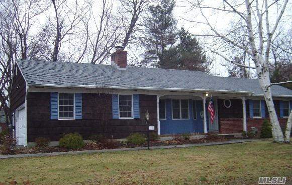 Wideline 3 Bdrm Ranch, 2 Bath, Fireplace, Cac, Full Basement With 2 Car Garage.