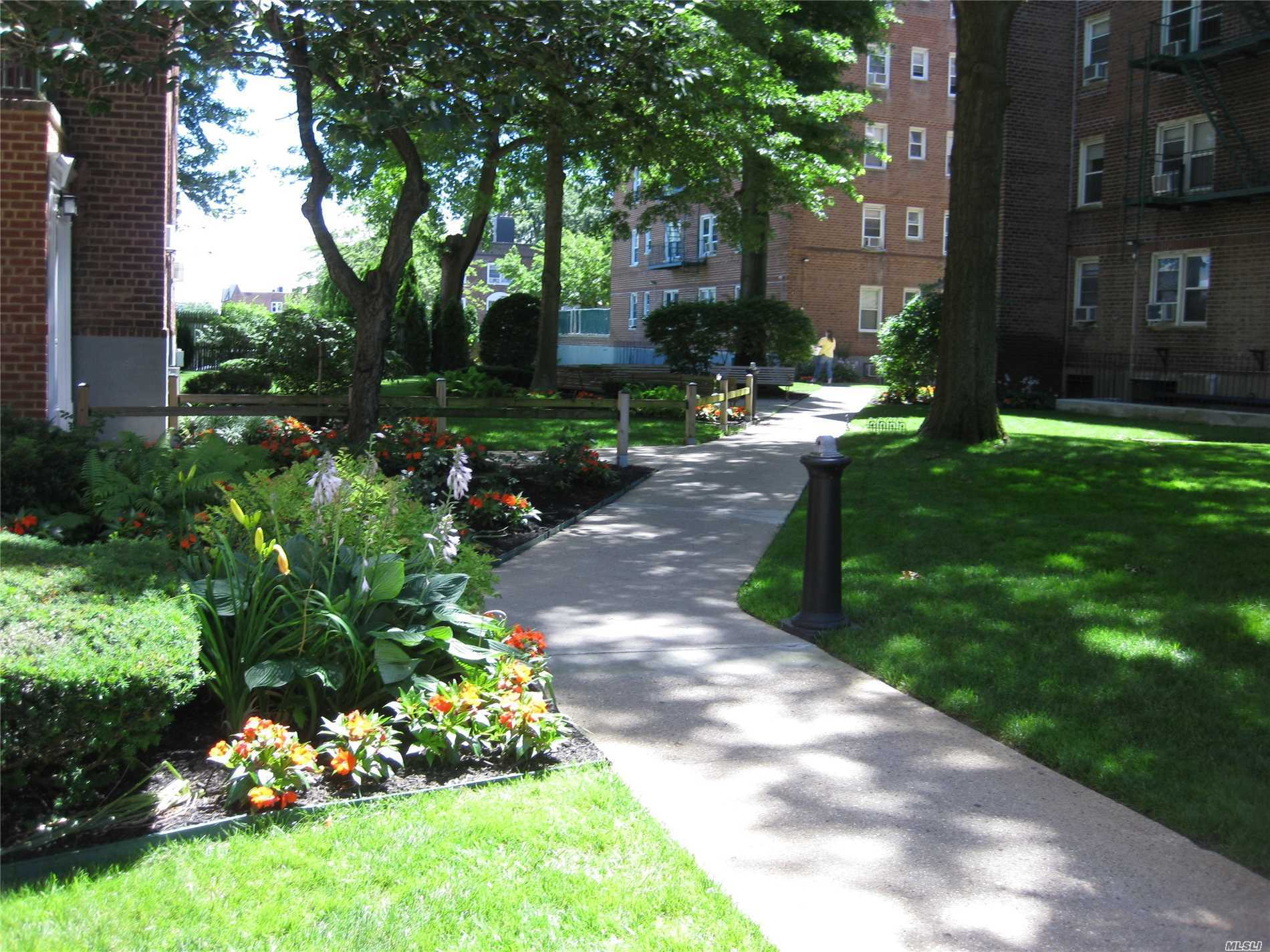 Beautiful North/Easterly Sunny Breezes !! .Great Top Floor Apt W/Birds Eye Views. At The West Hempstead Border Just South Of Garden City's Fine Restaurants And Shops. Owner Motivated, Unique Features And Great Tax Benefits!!  Near Lirr,  Quiet Building. Maintenance Includes Property Taxes. Elevator Building With Hi Tech Laundry In Basement. This Is A Must See !! Easy To View !! No Dogs.