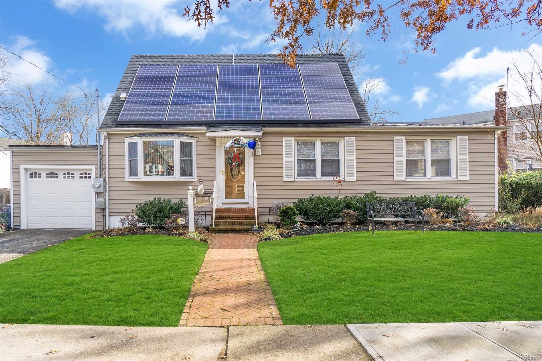 Pride Of Ownership At Its Very Best! Immaculately Maintained 2/3 Bedroom Energy Efficient Cape In Hewlett-Woodmere Sd. Everything Updated From 2006 & On. New 50 Yr Arc Roof, New Windows, Insulation, Plumbing & Electric Throughout. New Vinyl Siding. Updated Furnace & Ductwork W/ 2018 Hw Heater. Stunning Finishes, Appliances, Moldings, & Hw Floors. Spacious Back Yard W/Deck And 3 Zone Igs. New Sewer Line & Top Of The Line French Drain System. A Must See, Way Too Much To List Everything.