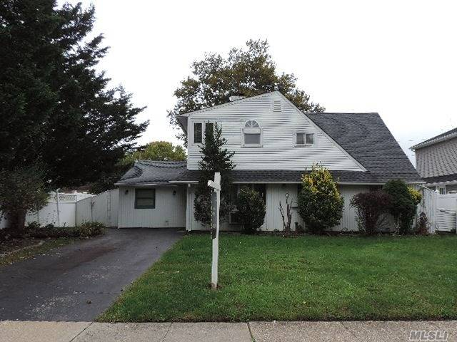 Looks Can Be Deceiving! This Expanded Cape Style Home Offers Tons Of Rooms & Space W/ Just Over 2000 Sf Of Living Space! Plenty Of Potential To Make This Your Very Own, In A Great Neighborhood! Nice, Entertaining Yard. Situated On Quiet Residential Block. Don't Miss This Opportunity!