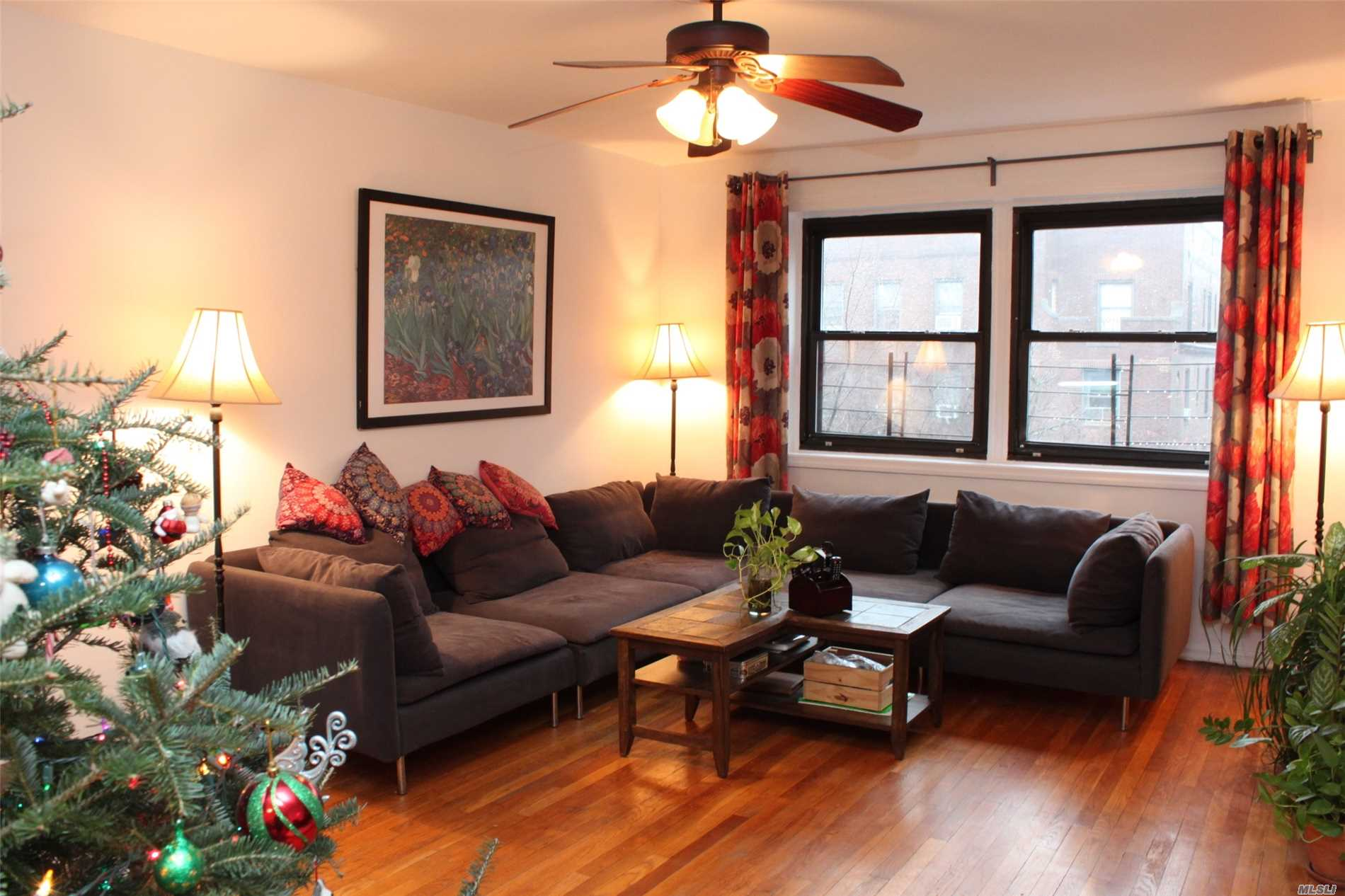 Move Right In To This Spacious Two Bedroom At Forest & Gardens. Some Features Include A Newly Renovated Kitchen & Bath, Gleaming Hardwood Floors & Spacious Closets. Enjoy Plenty Of Sunlight And Views Of Lush Gardens And Greenery. Forest & Gardens Is A Gated Community On Park-Like Grounds Complete With Fountains And Benches. Short Walk To E&F Or J&Z Subway Or Lirr For A 12 Minute Commute To Penn Station! Enjoy Nearby Forest Park Including Trails, Historic Sites, And Playgrounds.