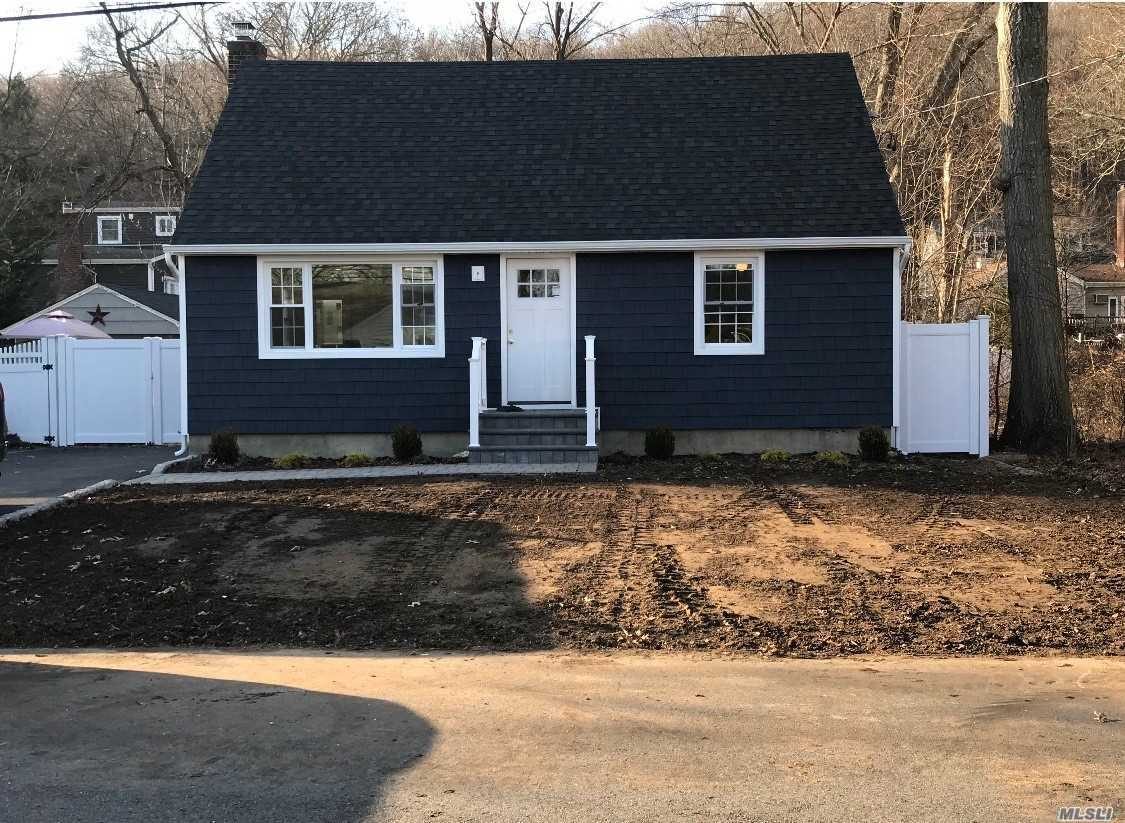 Diaond Completely Renovated Property In Half Hollow School District. Inside: New Hardwood Floors, Heating System, Kitchen With Quartz Counters & Stainless Steel Appliances, 2 New Baths, Lighting, Stairs...  Exterior: New Roof, Siding, Windows, Deck, Driveway, Stoop...Deck Is A Gift.