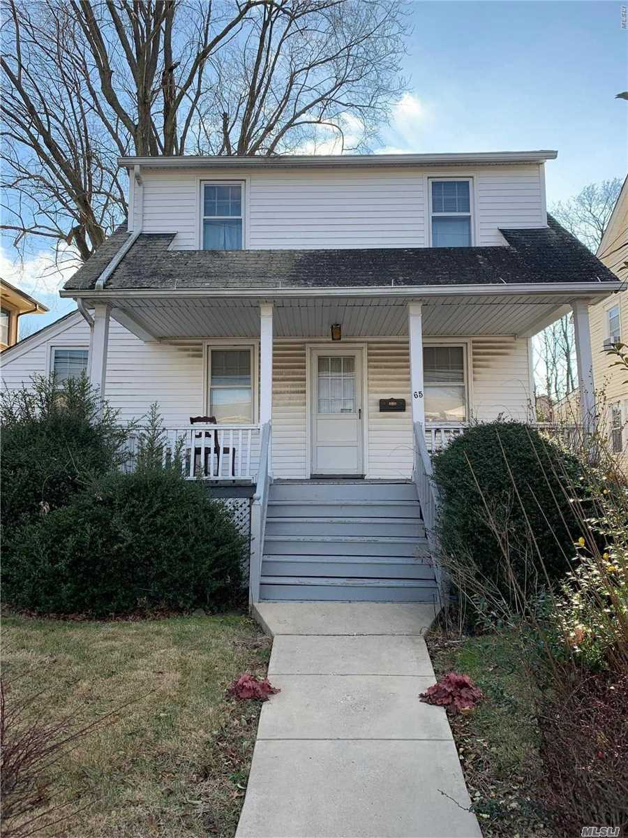 Calling All Contractors & Builders!! Prime Location, Close To Lirr, Shopping & Restaurants, 3 Bedroom, 1 Bath Colonial, Large Property, Tons Of Potential!!