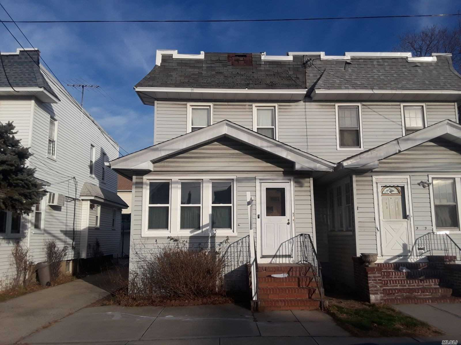 Amazing Opportunity To Own 2 Homes Next To Each Other As Next Door Also For Sale; Amazing Price; Because House Needs Tlc; Renovate It Your Way With 203K Loan; 3 Br 2 Baths;