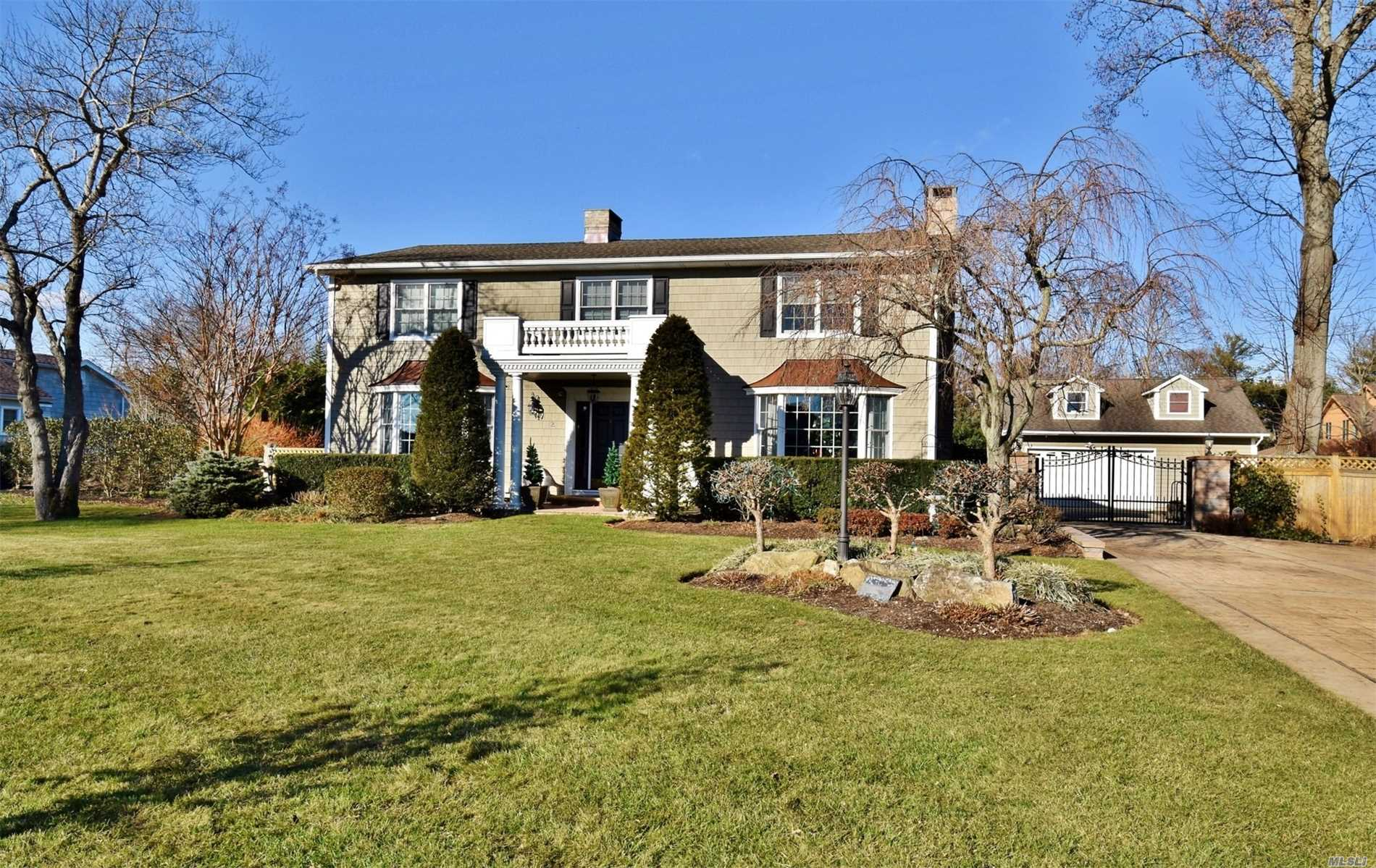 Beautiful Oak Nk Estates, Ren In 2015 Anderson Tw400 Windows, New Roof, Cedar Shake Vinyl Siding, Custom Stone-Walled Family Rm/Den Gas Fp, Formal Living Rm W/Wood Fp, Wainscotting And Architectural Moldings Central Ac & Vac, At&T Digital Security, 14Kw Generac Home Gen, Bi-Level Stone Dk, With Stone Patio W/Waterfall & Fire Pit, 800 Sq Ft 2.5 Car Heated Det. Garage Perfect For Car Collector & Home Hobbyist, For Music Afficianado A 500' Sound Proof Record. Studio Or Work Out Rm