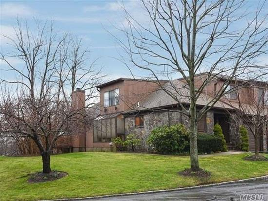 Roslyn Heights. Wonderful Renovated Sun Drenched End Unit. Green House Style. Powder Room, Master Suite & Bath On Main Floor. Finished Walk Out Basement. Laundry Room, 24 Hour Gated. New Tax Assessment Will Lower Tax's Approximately $2, 500.