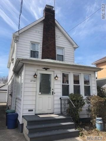 Great Opportunity To Own This 3 BR, newly refurbished Colonial In The Desirable Murray Hill Section Of Flushing. Set On A Lovely Tree-Lined Street, This Home Offers A 1.5 Car Garage. Freshly painted, new carpeting, new bath. Close to all!