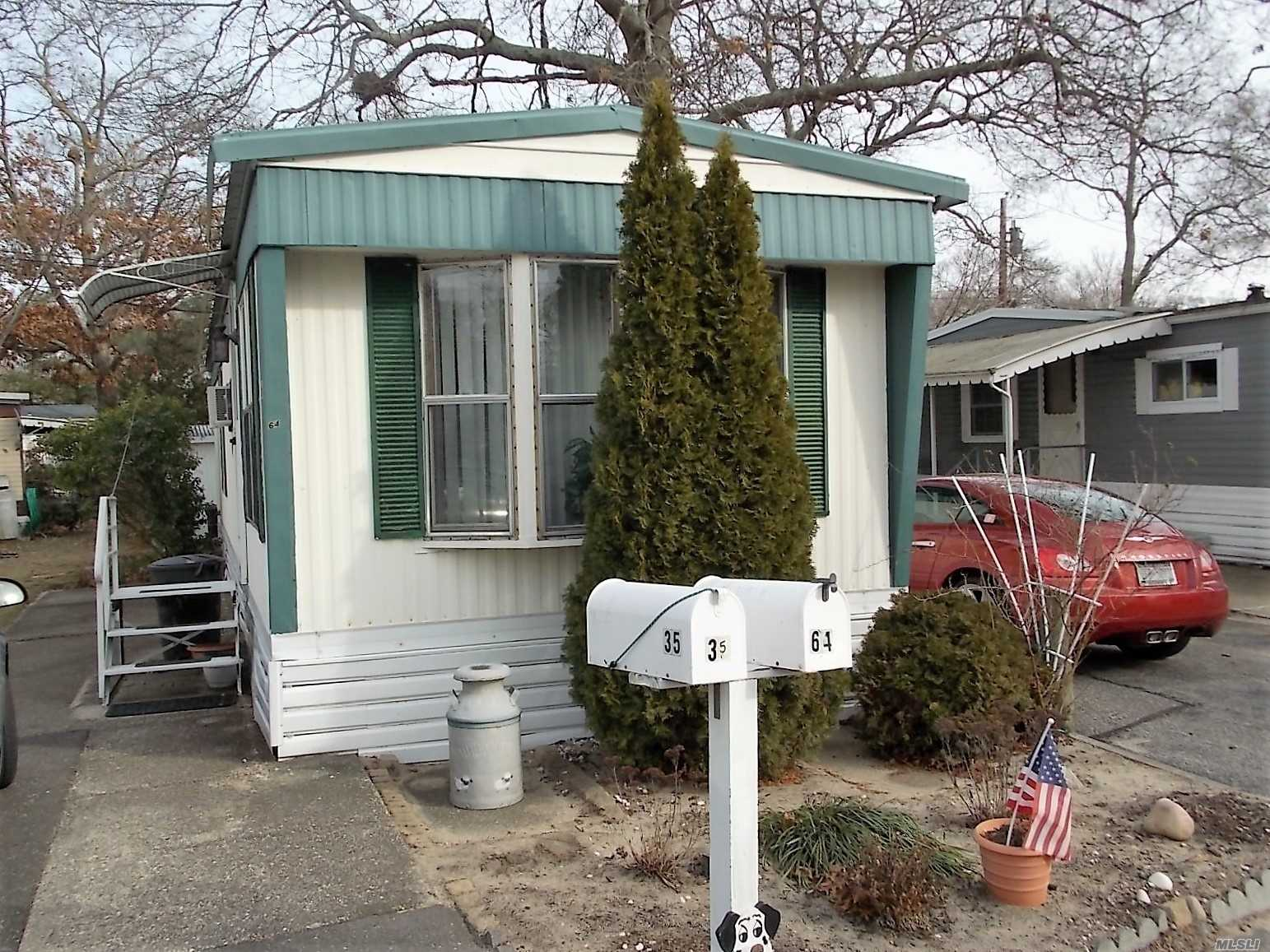 Must Be 55 Years Old Or Older To Live In This Community. All Tenants Must Be Approved By The Park. Nice 1 Br Unit Call For Appointment.