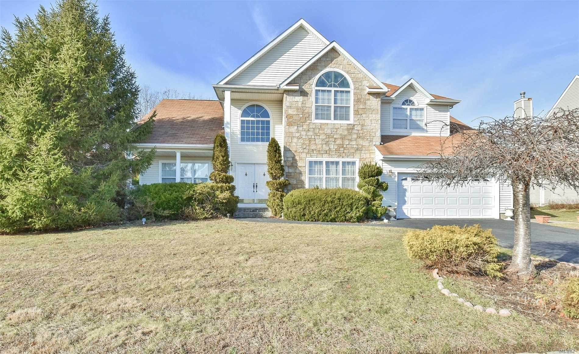 Gorgeous Center Hall Colonial Located In The Desirable Summerfield's Gated Community.Kitchen With Ci Opens To Great Room With Wood Burning Stone Fireplace, Master Bedroom With 2 Walk-In Closets And Full Bath With Spa Bath, Fully Finished Basement With Office Space. Gorgeous Spacious Backyard With Over-Sized Paver Patio & Extensive Brickwork. Cac & Gas Heat 2/Zones. Hoa $222. Gated Community Includes Pool, Playground, On Premise Daycare, Tennis & Basketball, Clubhouse W/Gym, . Taxes Being Grieved!