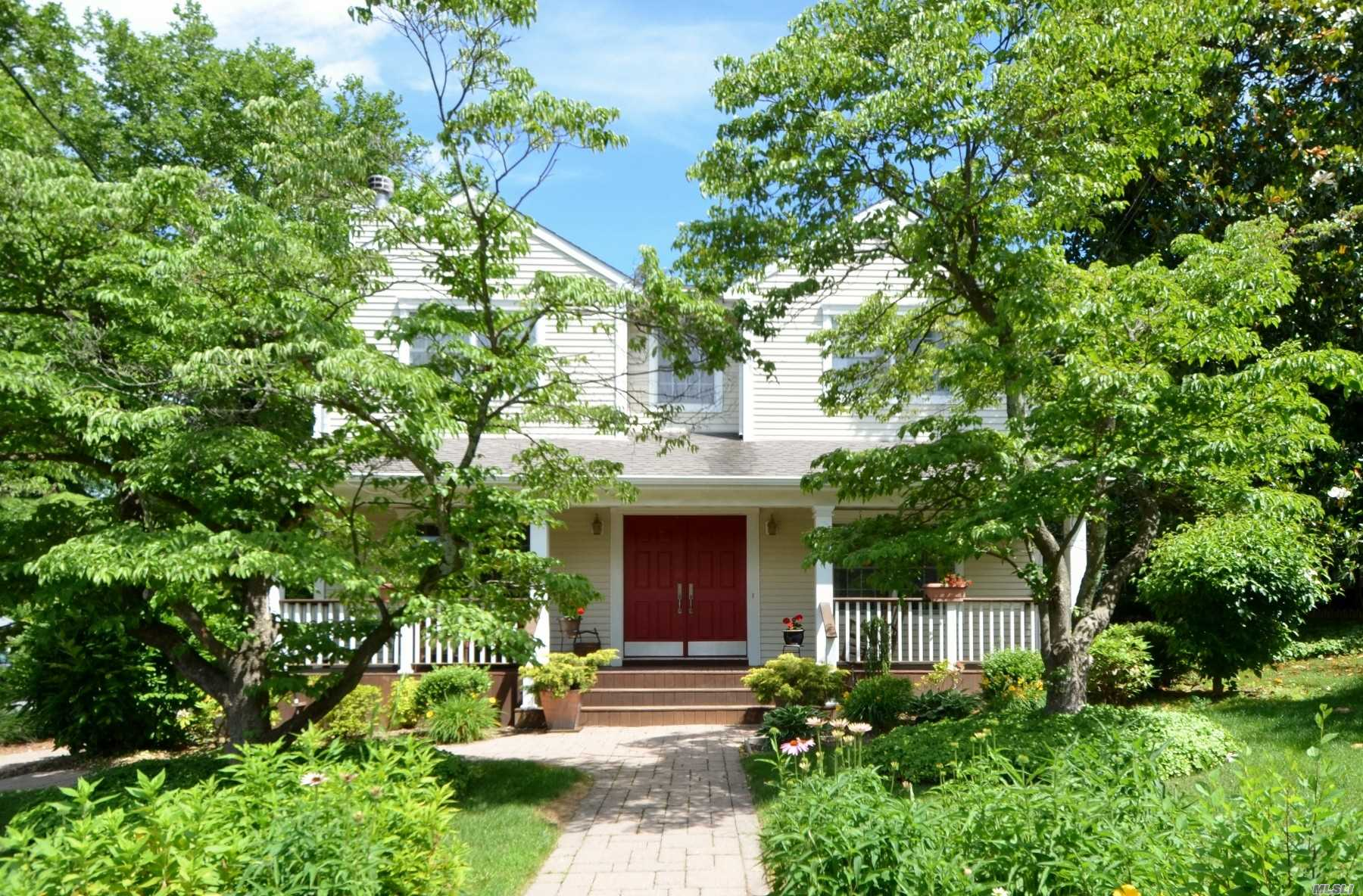 Proud To Show This Striking Colonial In Hill Terrace! Taken Down To Foundation In 2003. Front Porch, Ef, Lr W/Fpl, Fdr, Eik, Family Rm, 1/2 Bath, Mud Rm W/Washer/Dryer. 2nd Floor; Sitting Rm/Open Area, Master Bdrm Ste Including Full Bath W/Jacuzzi Tub & Walk In Closet, 2 Addl Bdrms, & Full Bath. Wonderful Yard W/Patio & Deck. A Must See!!
