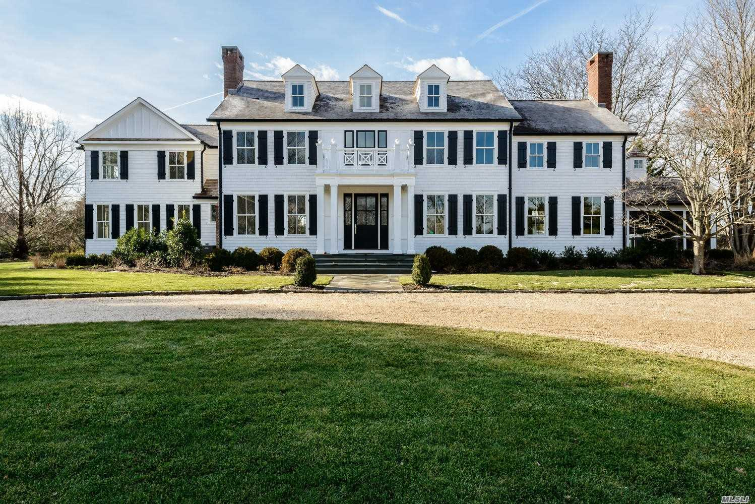 Superbly Crafted To Reflect A Hamptons Lifestyle, This Traditional Colonial Has Been Reimagined In 2017 And Presented As New From The Inside Out. With Modern Appointments, A State Of The Art Gourmet Kitchen, And Designer Baths To A Shingle Roof And Stunning Windows, This Residence Combines The Expected And Unexpected. Screened In Porch, Separate Guest Studio, Pool And Poolhouse And Mature, Specimen Plantings Define A Lush 2 Acre Property With Private Beach, Dock And Mooring (Dues Req;D).