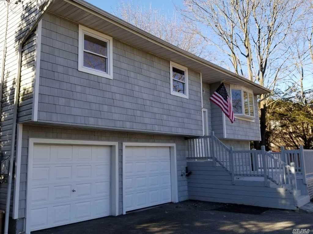 Totaly Remodled Turn-Key Wide Line Hi-Ranch W/4 Bdrms & 2 Baths / East Islip Schools/Open Floor Plan W/Lots Of Natural Light / Hige Private Fenced Lot / Brand New Kitchen W/ Yorktowne Cabinets (Made In Usa) Soft Close & Led Accents / Brand New Quartz Counter Tops / Solid Core Doors W/ Premimum Hardware / Brand New Samsung Stainless Steel Appliances/ Led High Hats / Hrdwd Flring/ New Baths / Grohe & Kokler Plumbing Fixtures / Twin Back Lit Led Make Up Mirrors / Jacuzzi Soaker Tub W Tiled Walls..