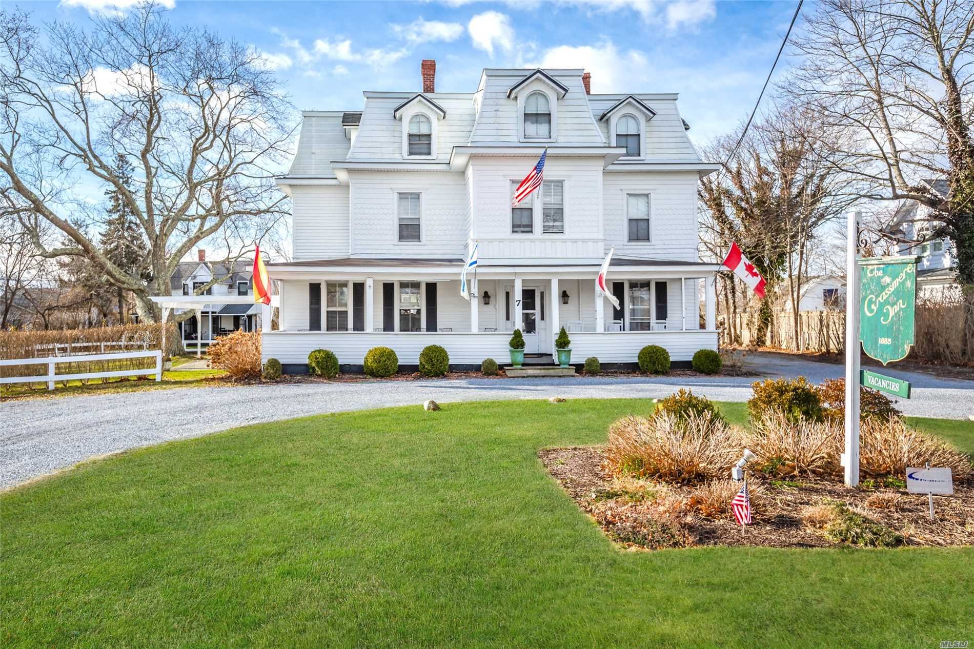 Do You Currently Own An Inn Or B&B?if You Do Then You Should Add This Prime Location To Your Porfolio.Old World Charm In Whb Village!!!The Grassmere Inn Built In 1885 Has 6, 500 Sq.Ft., 14 Guest Rooms, Lr, Fdr, Kit, 2Staff Bdrms, Owner's Apt & Office.An Additional 2, 100 Sq.Ft Bldg With 6 Additional Units.In The Heart Of Whb's Main St.&Ocean Beaches Less Than A Mile.Perfection!