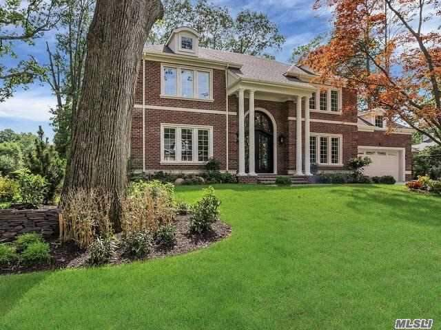 Brand New Construction! Elegant Custom Designed Brk C/H Col. The Finest Of Architectural Appointments.2 Story Grand Foyer, Hardwood Flrs, Radiant Heat Flrs, Gourmet Eik, Top Of The Line Appliances, Custom Interiors.Exceptional Location, Wonderful Property, Wired For Cameras, Wi-Fi, Alarms, Central Vac. Delivered with Customized Finished Basement. Lake Success Country Club Community, Private Pool, Tennis, Golf & Police.Gn South Schools.