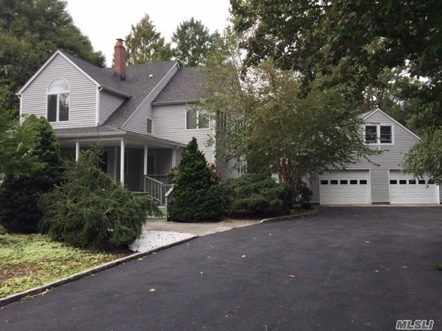 Beautifully Redone Colonial In Famed Harborfield Schools Featuring Low Taxes, Large .76 Lot, Eat-In Granite Kitchen W Subzero Refrigerator And Dual 30 Gas Stoves With Sliders To Large Deck. Huge Formal Dining Rm-12'X19', Large Formal Living Rm 13'X21', Master Bedroom Features Huge Walk-In Closet And Master Bath W Jacuzzi. Upstairs Bedroom Closets Feature Wood Organizers, Finished Bsmt, Huge 2.5 Car Detached Garage With Rear Storage Area And Floored Loft. Too Much To List - Must See!