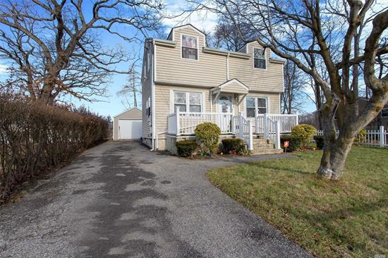 Beautiful 10 Year Old 3 Bedroom 1.5 Bathroom Colonial With A Full Finished Basement. This Property Features A 3 Car Driveway With A 1 Car Detached Garage, Huge 47X147 Lot. Perfect For A 1st Time Home Buyer Or Someone Looking To Downsize. **Low Taxes**