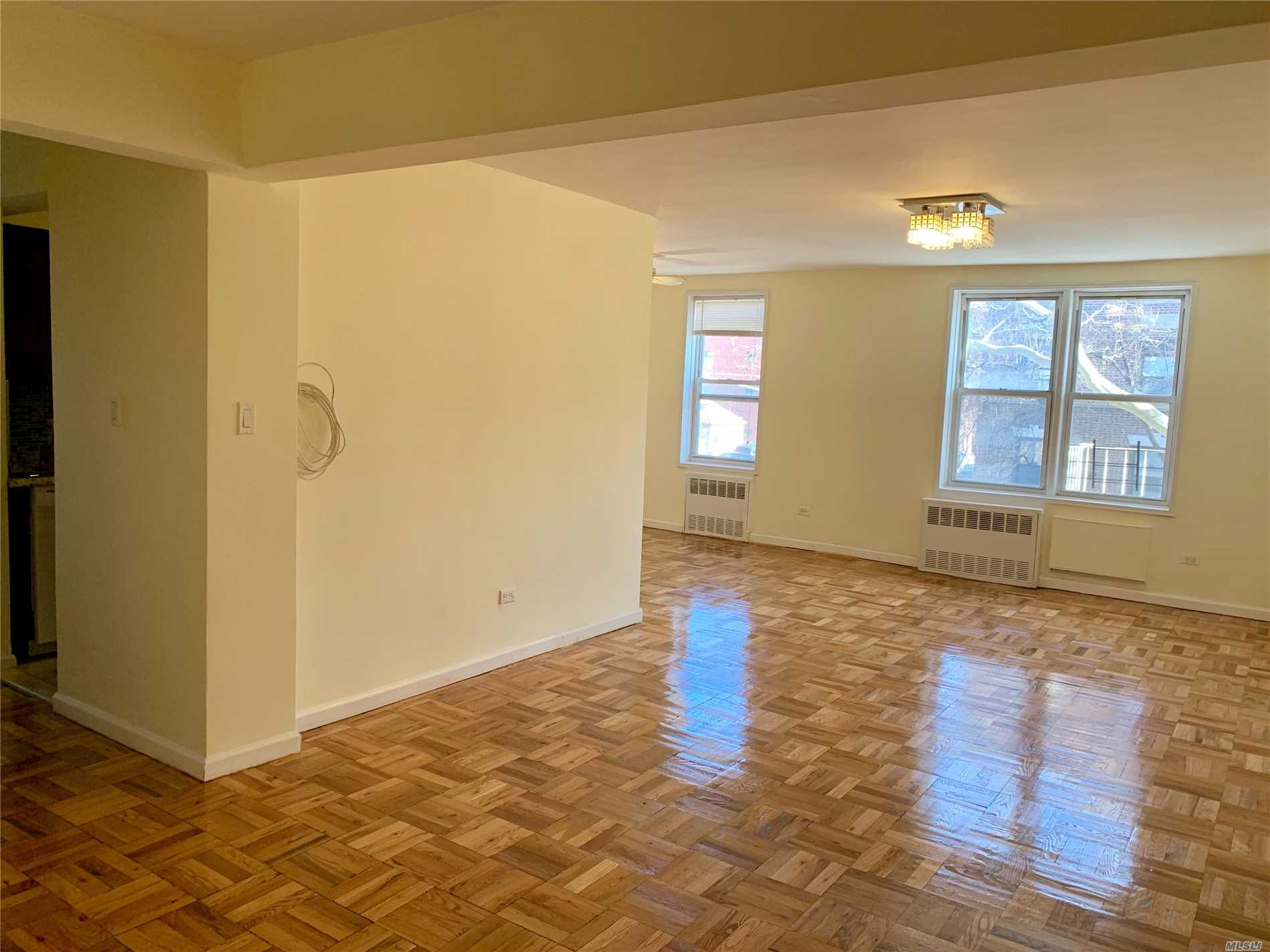 Sponsor Apartment(No Board Interview Required). Sunny & Spacious Apartment. Laundry Facility On Basement Level. In Prime Location Of Kew Gardens Walking Distance To Lirr, Shopping, Entertainment, And Airports. Act Fast! Sorry No Pets.