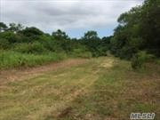Wonderful Lot, Level And Clear, Ready For Your Dream Home. Water On Site And Proposed Driveway On Survey. Take Advantage Of All The North Fork Has To Offer.