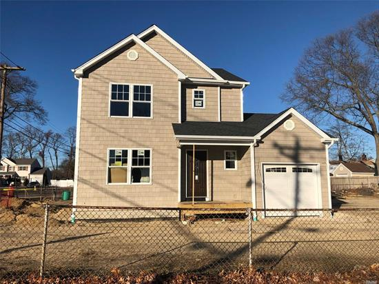 Beautiful 3 Bedroom, 2.5 Bath, Brand New Construction In Islip School District Featuring Oak Floors, Quartz Countertops, Hi Hats, Master Suite W/Full Bath W/ 2 Closets, Eik, Formal Dr, Lr, Cac, Garage, Full Basement W/ Ose. Under Construction W/Estimated Completion 6/19.Taxes Estimated.Plans Attached.**Drive By Only*** Do Not Enter The Property**