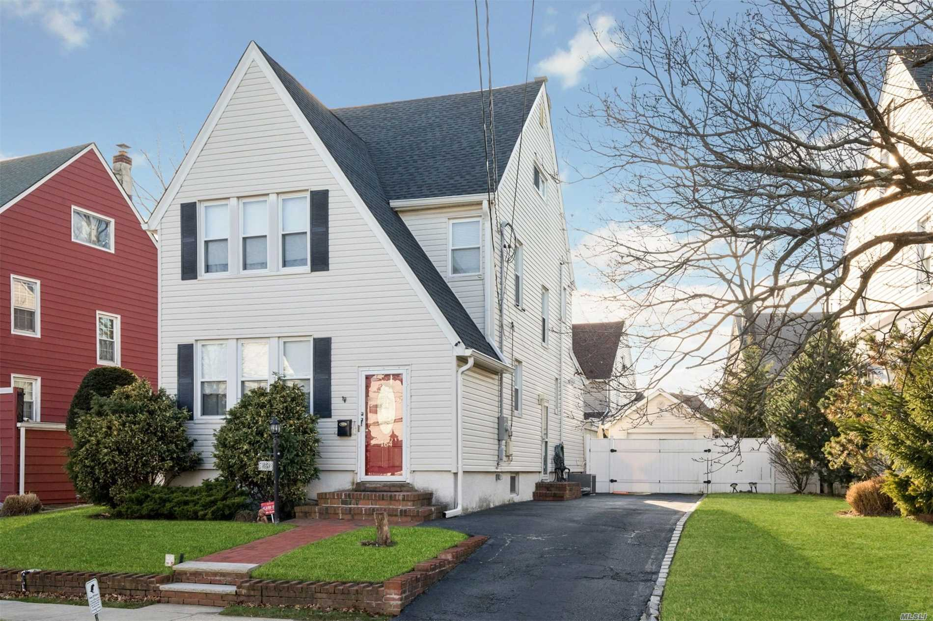 4 Bedroom 1.5Bath Colonial With Full Finished Basement, Eat-In Kitchen Is 2 Years Old, Stainless Steel Appliances, Granite, New Roof On House & Garage, Sliding Door To Deck, Roll Up Awning, 4 Ceiling Fans, Near Transportation & Shopping.