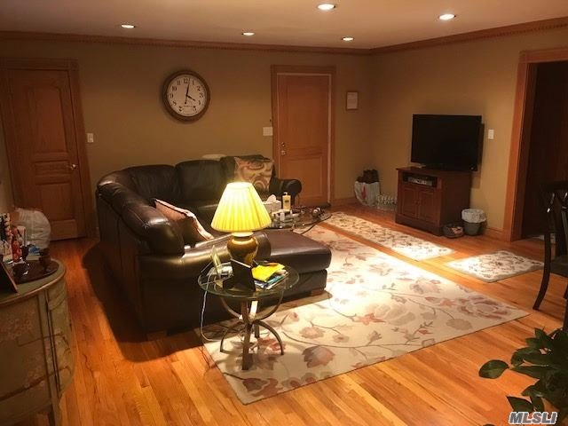 Upper 2Br Coop. This Unit Offers Custom Oak Woodwork. Crown And Base Molding In Every Room. Custom Made Radiator Covers. All Doors Changed To Solid Oak Doors With Carvings. Over $15K Spent On Woodwork. Updated Kitchen With Granite Countertops And Stainless Steel Appliances. Washer And Dryer In Unit. A/C Installed In The Wall. Full Finished Attic With Ample Storage Space. This Apartment Is Move In Ready. Located Close To Local Restaurants, Stores And Public Transportation.