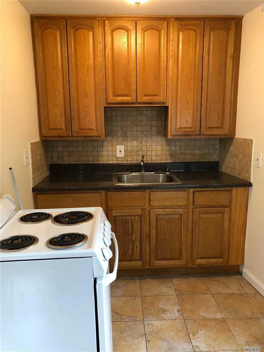 Apartment Located At Rear Of Building (459) Side Door With Awning. First Fl. Apt. #3.. Eff, Combo Living Room & Dining Area. 1 Bedroom, Full Bath. Newly Painted. Heat Only Included.