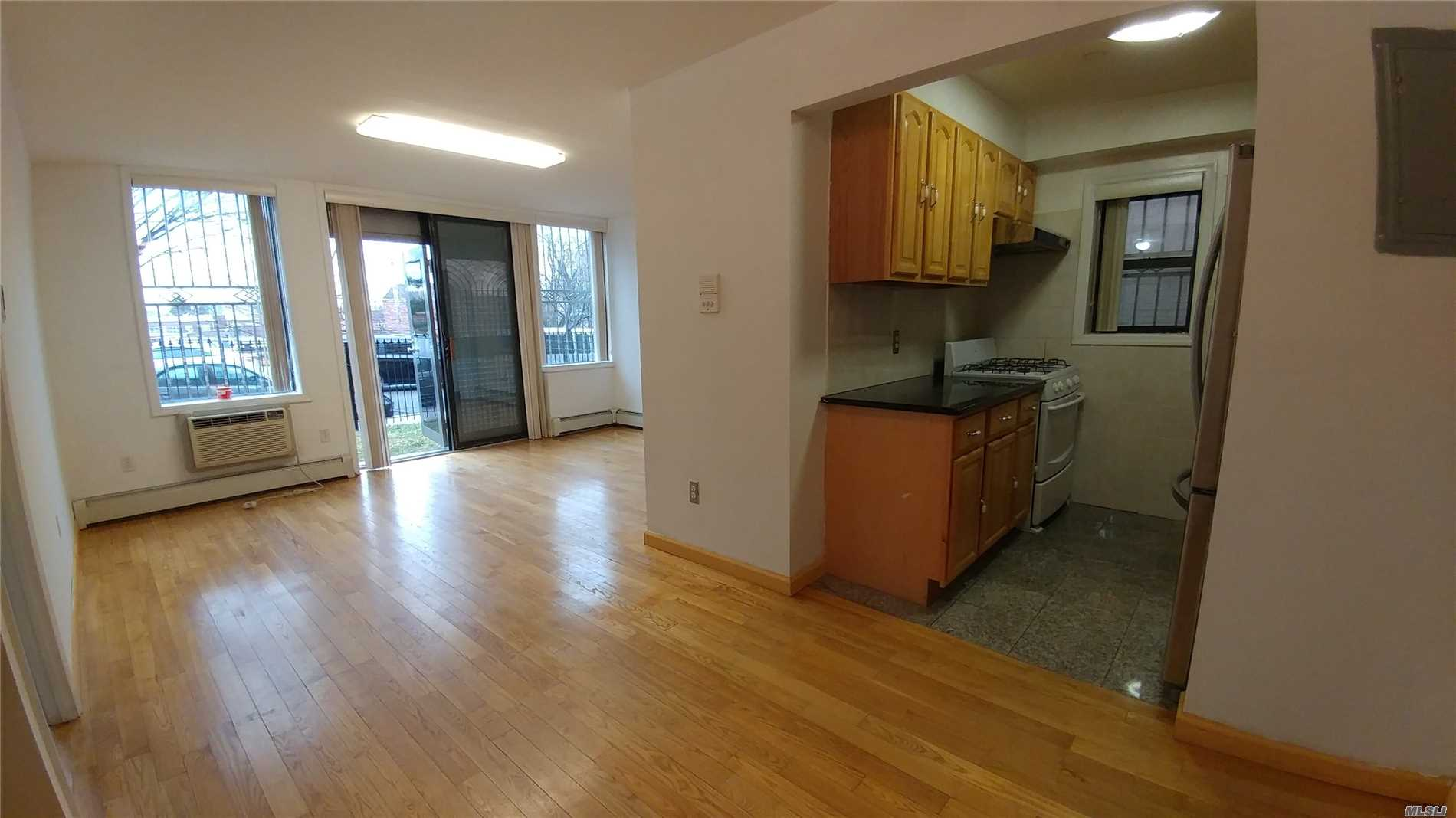 This Is A Wonderful One Bedroom Duplex With Separate Entrance For The Basement With Access To The Elevator And Parking Garage. It Is Bright With An Open Concept.The Property Is Close To Shopping Areas And Public Transportation And Only Minutes To The City. Parking Is Included With The Unit. 14 Years More Tax Abatement. Buyer Must Verify All Information. All Information Are Not Deemed Accurate.