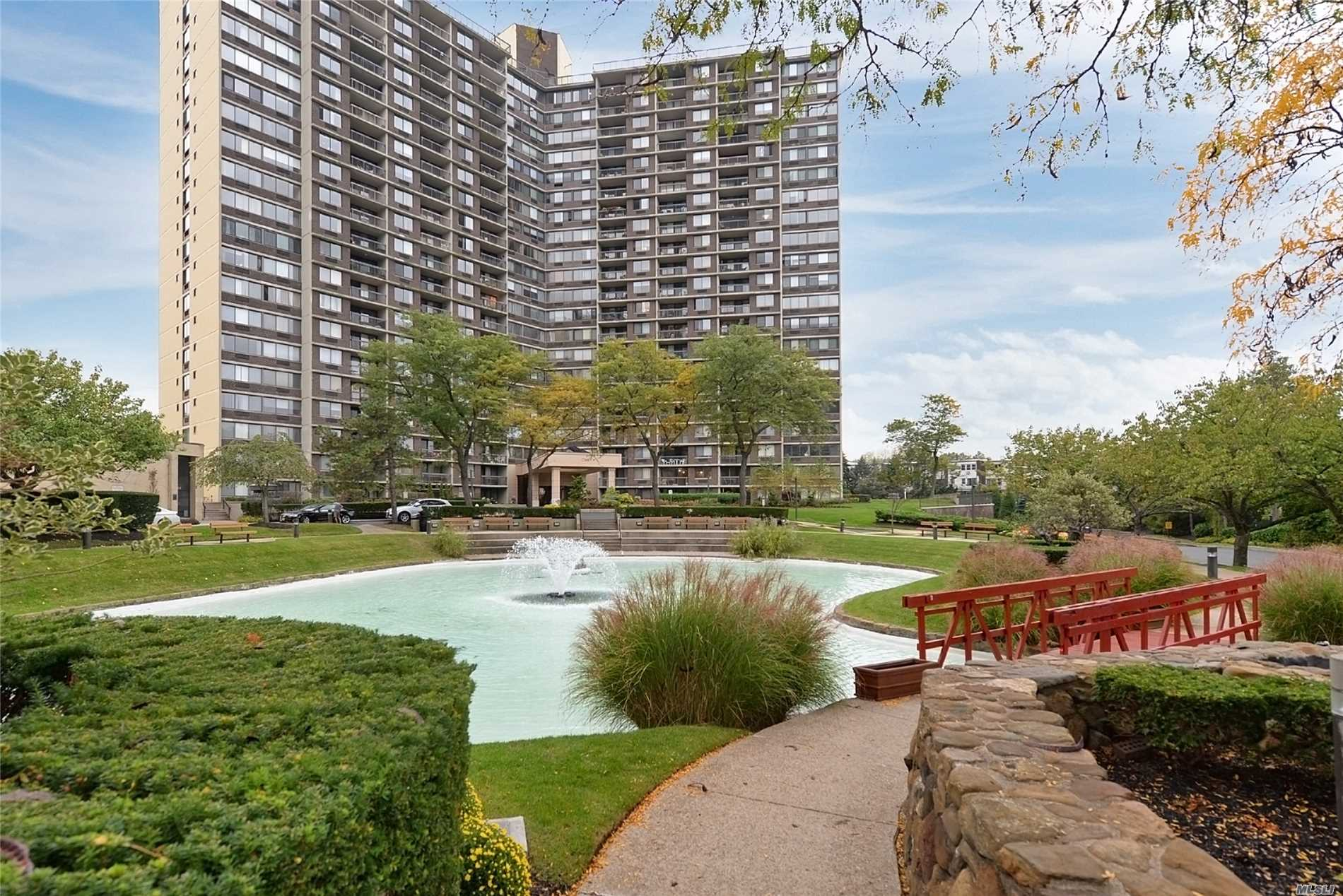 Fabulous Bay Club Gated Community. 24 Hr. Security. Doorman / Concierge. Extra Large Jr.4, 1-2 Bedrooms (Or Den) +Dine Rm Double Terrace, Fully Renovated Kitchen & Bathroom. Beautiful Wood Floors Throughout. Nyc Skyline & Partial Bridge Views.Year Round Swim & Fitness Center & Indoor Parking (Extra Fees). Free Tennis Club. Underground Stores. On Premises Restaurant. New Children's Playground. Best Location ... Near Everything