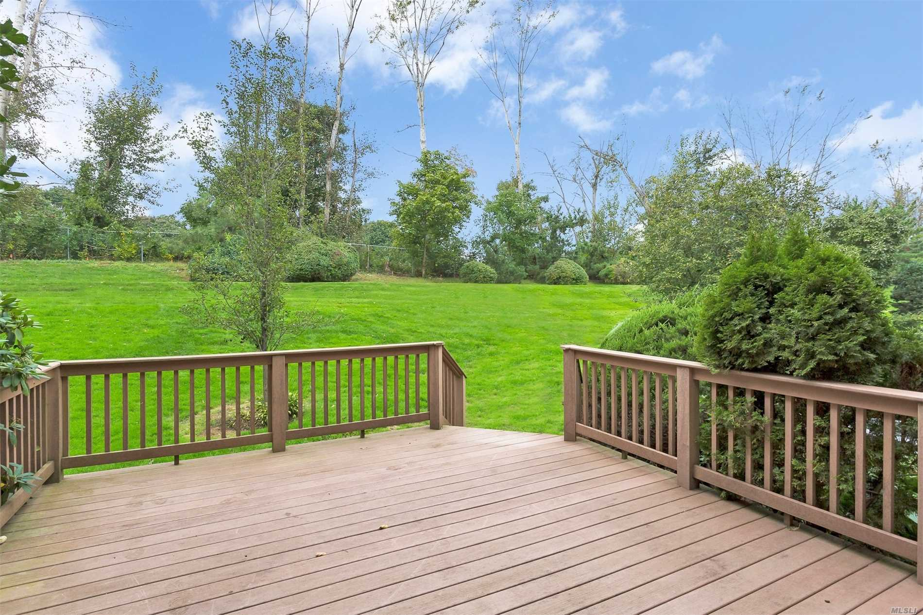 Beautiful End Unit On Cul-De-Sac In Desirable Gated Community The Knolls, Technically Co-Ops With Condo Rules.Sunlit 3-Bedroom 3.5-Bath Home Offers 2688 Sq Ft Plus 914 Sq Ft Fin Finished Basement W/Fam Room, Guest Room, Laundry Room & Full Bath Plus 2 Wood-Burning Fireplaces, Cvac, Office & 2-Car Garage. Boasts A Spacious Master Ste W/Walk-In Closet & Large Master Bth. Superior Location W/ Extra-Private Views Of Lawn & Golf Course! Buyer Pays $5K Transfer Tax. Taxes & Maint Are Monthly