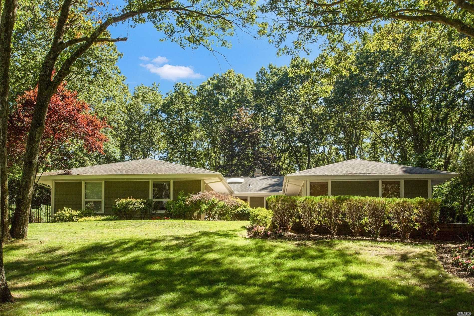 Gorgeous! Totally Renovated To Perfection! Expanded Sprawling Ranch! No Money Spared! Done By Top Designer A Showcase Of A Home!All The Bells & Whistles! New Custom Kitchen & Baths With Every Attention To Detail! Hi End Appliances! Wood Floors! Moldings! Granite! Onyx! New Siding! New Windows With Dramatic Views Of Picture Perfect Property! Great Location! Finished Basement & More! Strathmore Pool/Tennis Community! A Gem Of A Home To Enjoy!