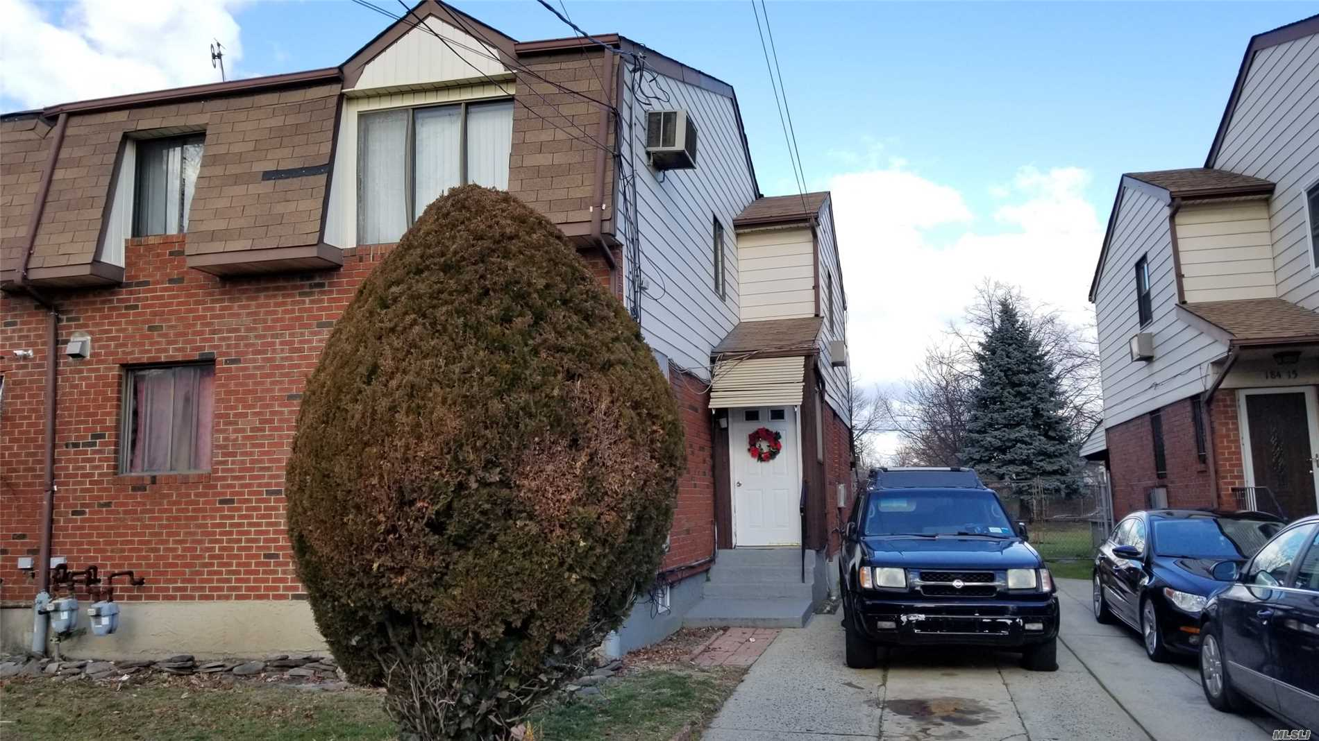 Buit In 1985, 2 Family House Sitting On A Oversized Lot 33 X 151, Brick/Frame House. Finished Basement With Separate Entrance. Private Driveway. Very Quiet Block. Property Is Tenanted.
