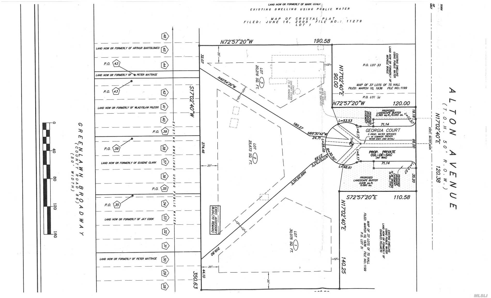 Great Opportunity For 3 Lot Subdivision Of 1/2 Acre Lots In Harborfields Sd! Flat, Level Property On Cul De Sac. Subdivision Had Final Approval In 2015. The filing has been extended. Need Buyer To File Map; Post Bonds, As Well As Other Minor Details.